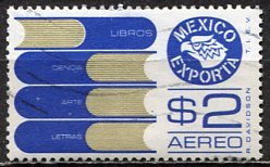 Mexico; 1976: Sc. # C493; O/Used Single Stamp