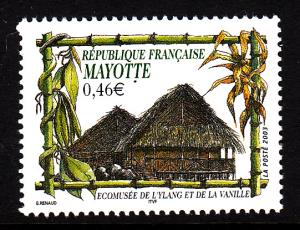 Mayotte MNH Scott #184 46c Vanilla and Ylang Museum