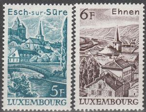 Luxembourg #599-600  MNH VF (V2714)