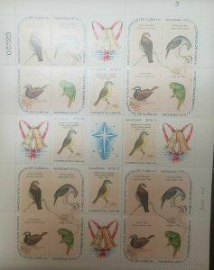 O) 1970 CUBA-CARIBBEAN, SPANISH ANTILLES,CHRISTMAS, BIRDS - TORREORNIS -
