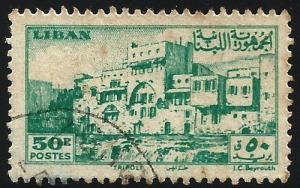 Lebanon 1947 Scott# 208 Used
