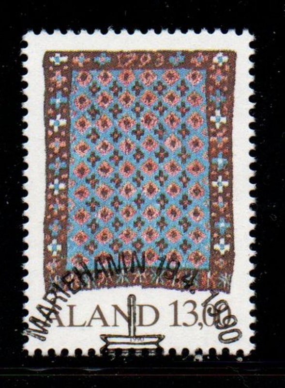 Aland Finland Sc 53 1990 13 m Handicrafts stamp used