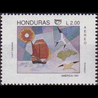 HONDURAS 1992 - Scott# C839 America Issue 2l NH
