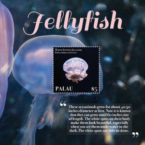 YEAR 2020-PALAU - JELLYFISH  1V complet set    MNH ** T