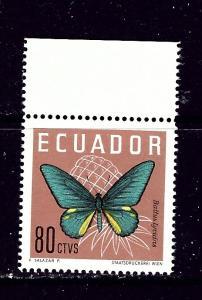 Ecuador 683 MNH 1961 Butterfly