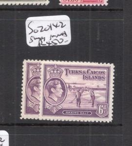 Turks & Caicos SG 201 Two Shades MNH (3dek)