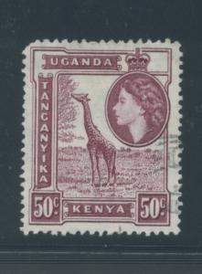 Kenya, Uganda, Tanzania 110  F-VF  Used  cjr