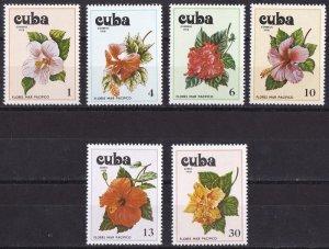 Cuba 1978  Hibiscus Set MNH**