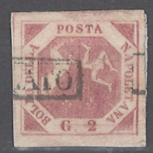 COLLECTION LOT # 2097 TWO SICILES #3a 1858 CV=$16