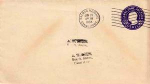 Canal Zone, Postal Stationery