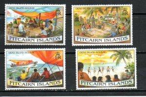 Pitcairn #427-430 MNH