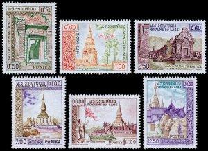 Laos Scott 60-65 (1959) Mint LH VF Complete Set C