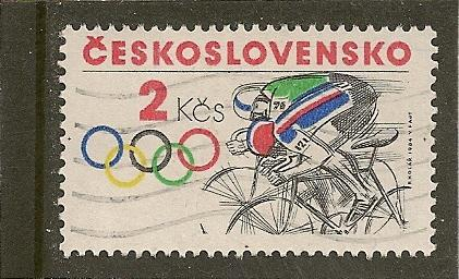Czechoslovakia  Scott  2528    Olympics     Used