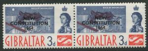 Gibraltar #165 QEII MNH  Scott CV. $0.50