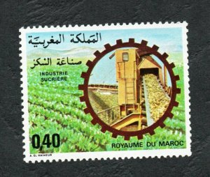 1978 - Morocco - Maroc - Sugar Indusry- L'Industrie du Sucre- Agriculture- MNH**