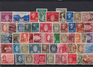 norway stamps ref 16089