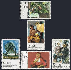 Germany-GDR 1599-1603,MNH.Michel 2001-2005. Paintings in Berlin Museums,1974.