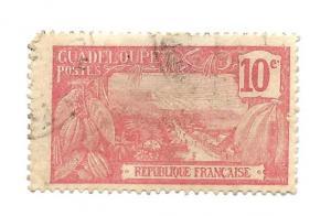 Guadeloupe 1905 - U - Scott #59