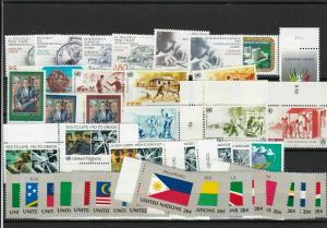 United Nations  Mint Never Hinged Stamps  ref R 18280