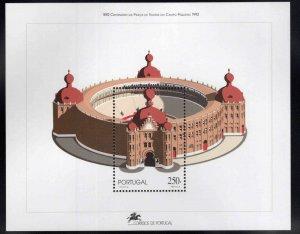 PORTUGAL Scott 1935 MNH** 1992 Bullring souvenir sheet