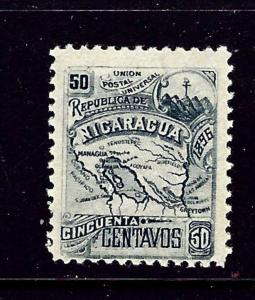 Nicaragua 89F MH 1896 issue