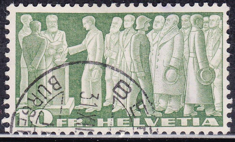 Switzerland 246 Citizens Voting 1938