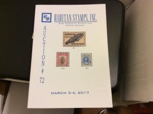 Raritan Catalog Auction #72,March 2017 Rare Russia, Errors & Worldwide Rarities
