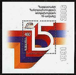 HERRICKSTAMP ARMENIA Sc.# 741 Independence S/S
