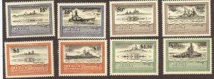 Bequia #186-89 MNH ships