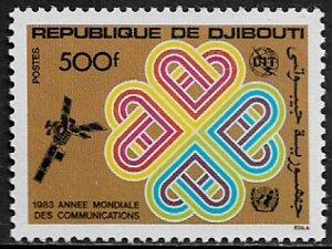 Djibouti #561 MNH Stamp - Communications Year