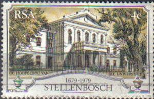 SOUTH AFRICA, 1979,  used 4c, 300th Anniv of Stellenbosch (oldest town in Sou...