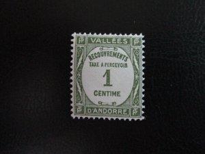 Andorra #J16 Mint Never Hinged (K7G1) WDWPhilatelic 3