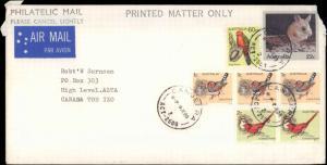 Australia, Postal Stationery, Birds