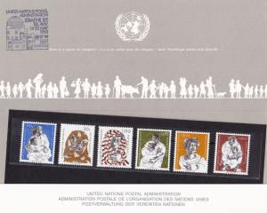 A Future For Refugees United Nations mint  never hinged stamps souvenir R20228