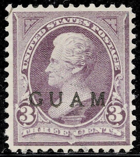 GUAM #3 XF USED CV $175.00 BQ3965