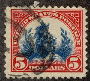 US #573 VF/XF, nice High Value, very fresh,  SUPER SELECT!