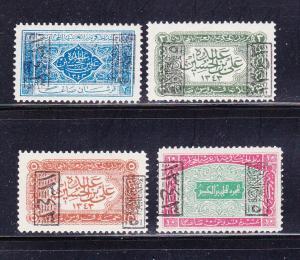 Saudi Arabia King Ali L165-L168 MHR (B)