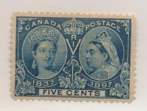 Canada Stamp Scott #54, Mint Hinged - Free U.S. Shipping, Free Worldwide Ship...