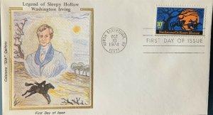 Colorano Silk 1548 Legend of Sleepy Hollow Washington Irving North Tarrytown NY