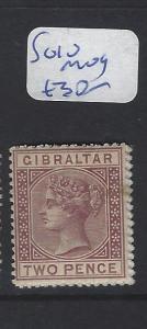 GIBRALTAR (P0504B)  QV  2FD  SG 10  MOG