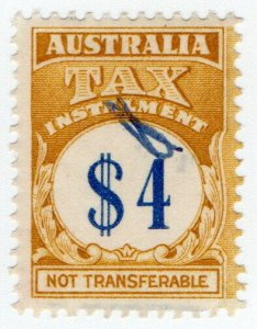 (I.B) Australia Revenue : Tax Instalment $4
