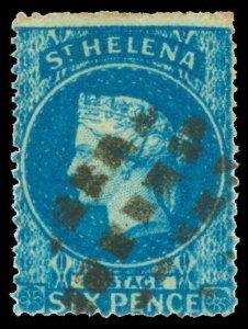 St. Helena Scott 2 Gibbons 2 Used Stamp