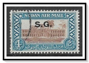 Sudan #CO5 Airmail Official Used