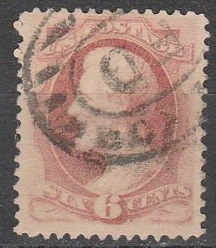 US #148 F-VF Used CV $25.00 (A1198)