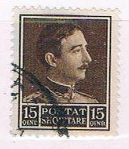 Albania 254 Used King Zog 1930 (A0374)