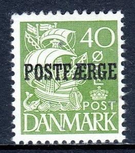 Denmark - Scott #Q23 - MH - Pencil on reverse - SCV $4.50