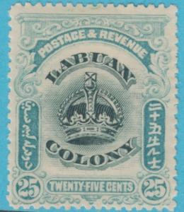 LABUAN 107  NO FAULTS MINT HINGED OG * VERY FINE !