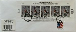 Hideaki Nakano B-2 American Responds Stamps that Make a Difference