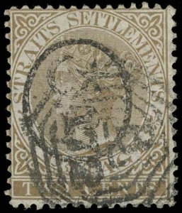 Malaya / Perak Scott 1 Gibbons 1 Used Stamp