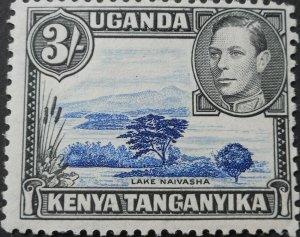 Kenya/Uganda/Tanganyika 1938 GVI 3/- SG 147 mint